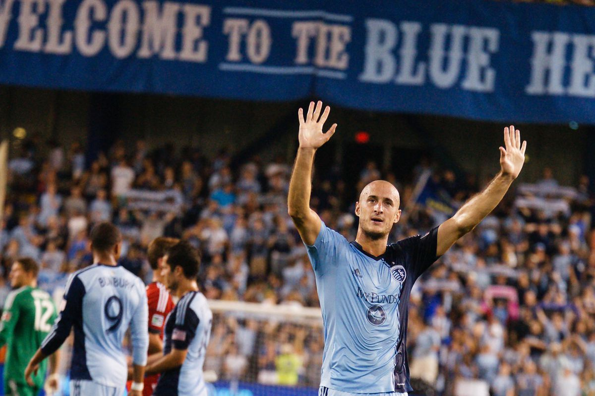 Collin may have played his last match with Sporting KC