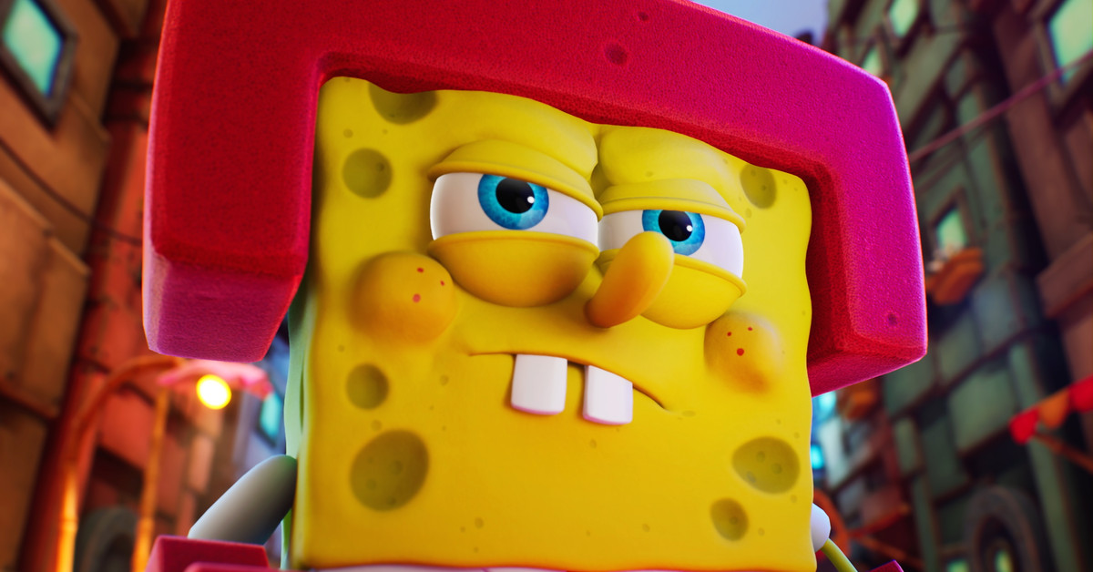 SpongeBob bumbles through the multiverse in new adventure game
