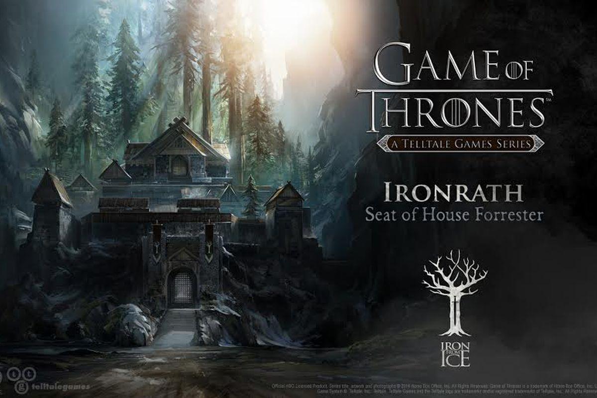 Telltale Game Of Thrones Ironrath