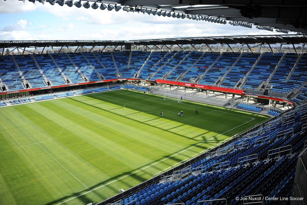 Avaya Stadium on ribbon-cutting day