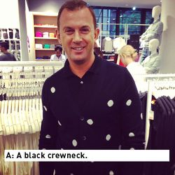 Andrew Shannon, VP of Joe Fresh Stores