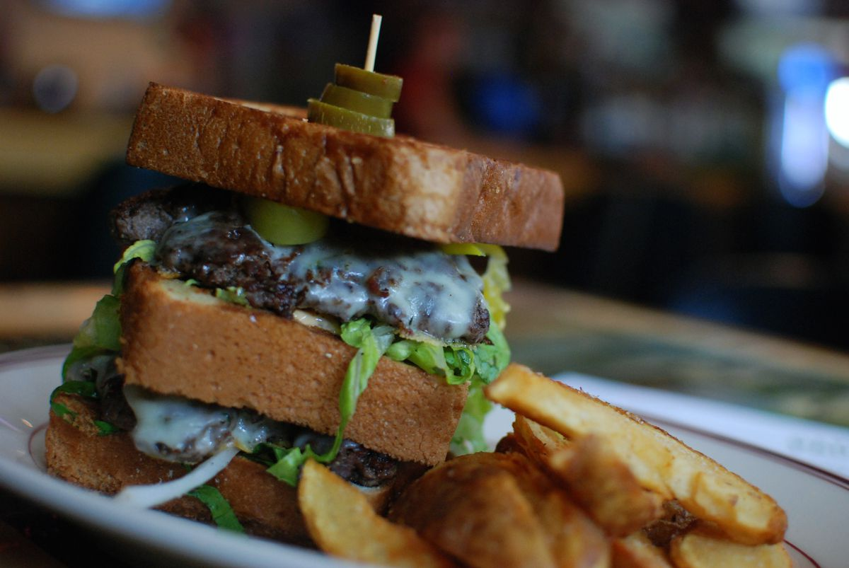 The Shack Burger. Photo by Joy Summers
