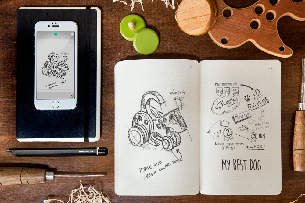 Moleskine Launches Its Smart Writing Set To Digitize Your Brainstorm The Verge