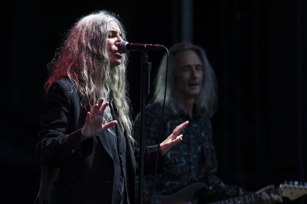 Patti Smith's new book 'Year of the Monkey' shows, again, she's a poet on the page as well as a stage