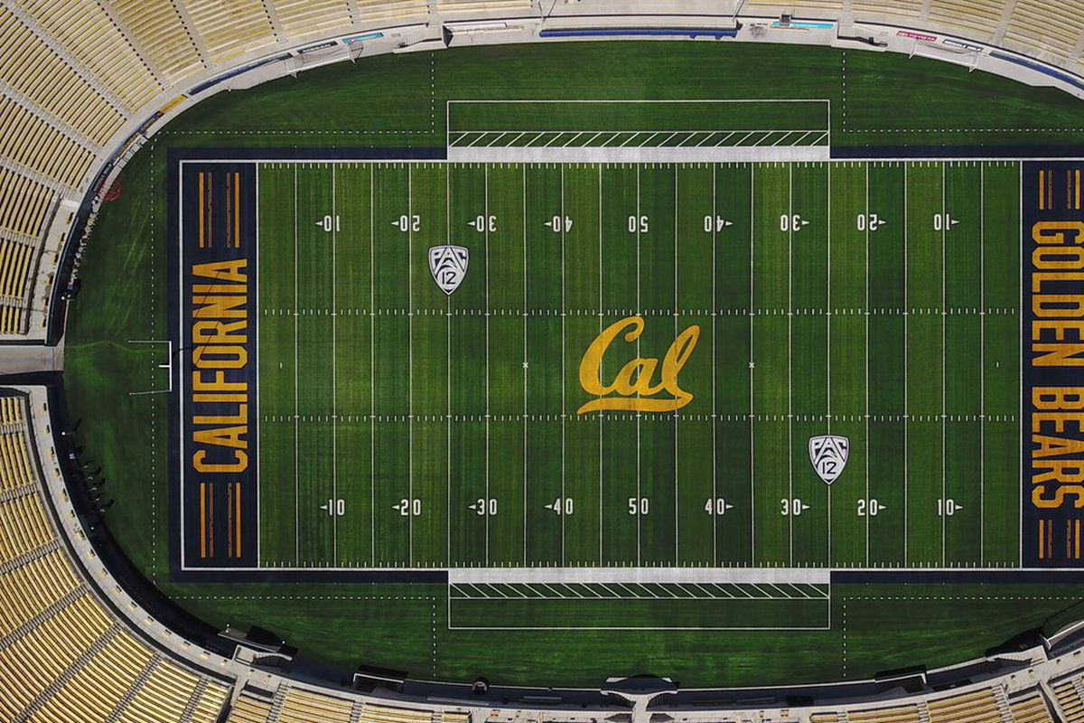the new cal football field features the hayward earthquake fault