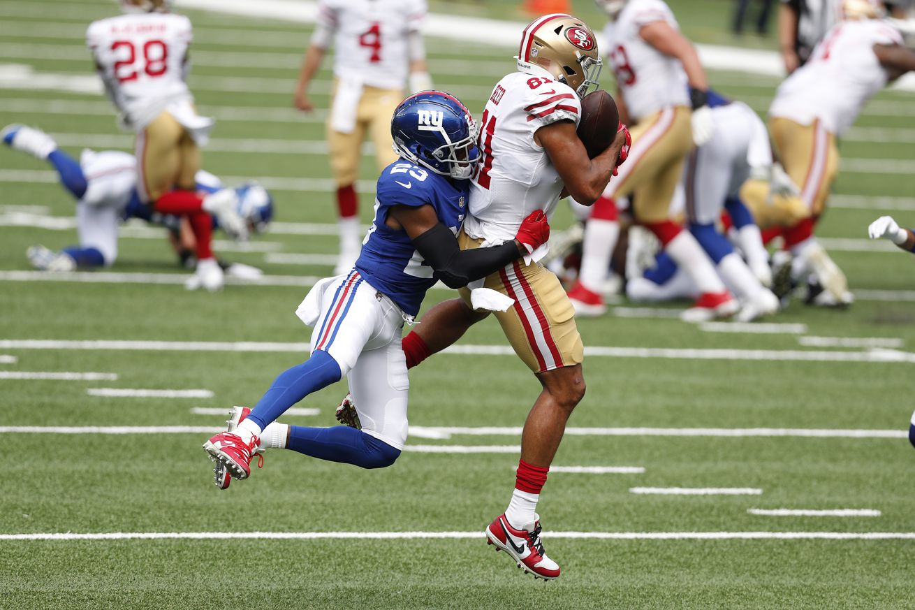 San Francisco 49ers v New York Giants