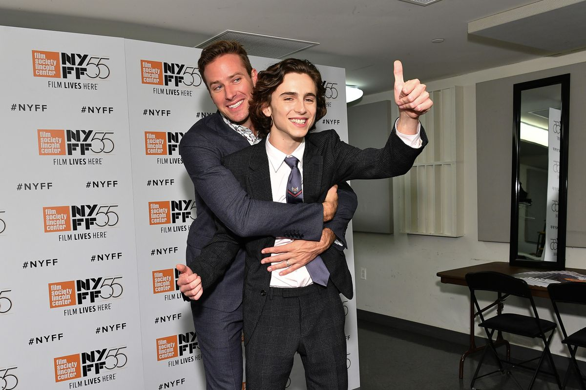 55th New York Film Festival - 'Call Me By Your Name'