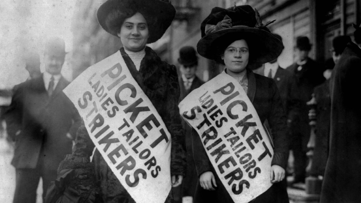 How Striking Workers Used Fashion on the Picket Line - Racked