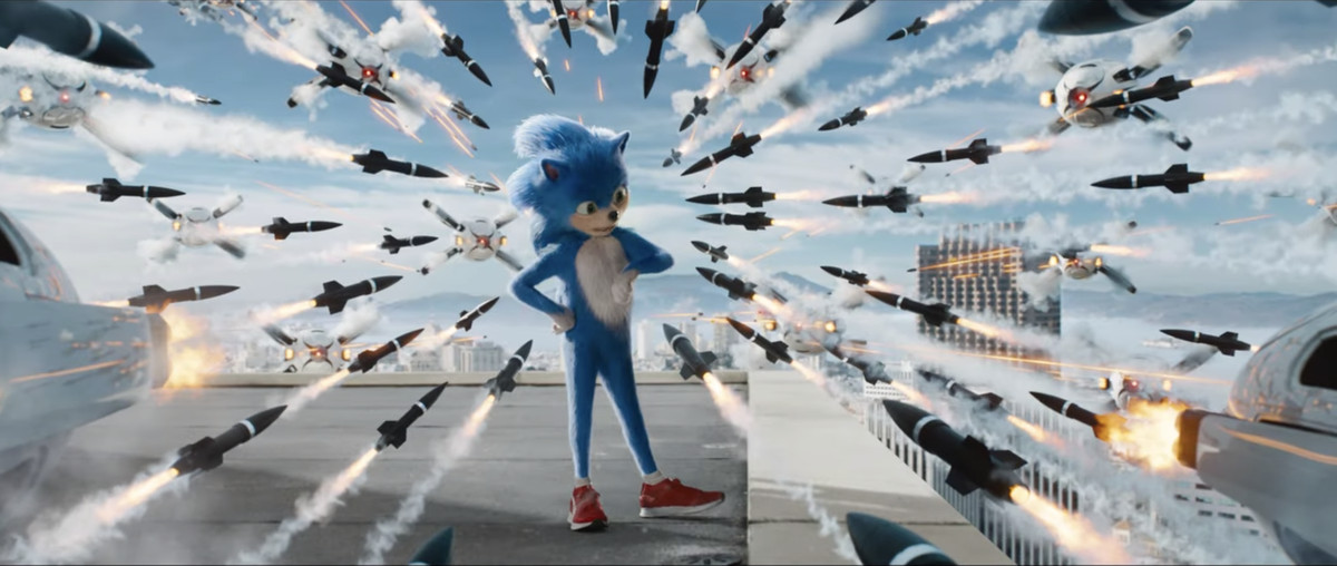 No one can save you from the first trailer for the live-action Sonic