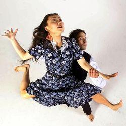 "Ririe-Woodbury Dance company performing ""Wein."""
