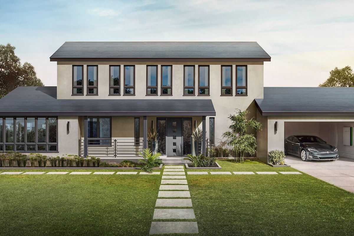 Tesla Solar Roof Order >> Tesla S Solar Roof Is Now Available To Order Curbed