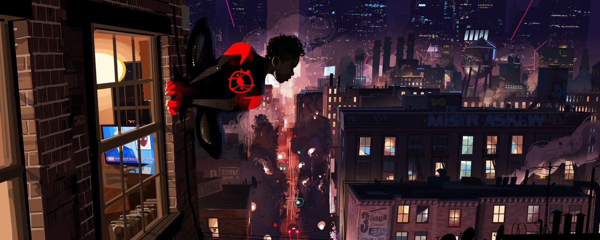 Spider-Man: Into the Spider-Verse's unique art style meant 'making five movies'