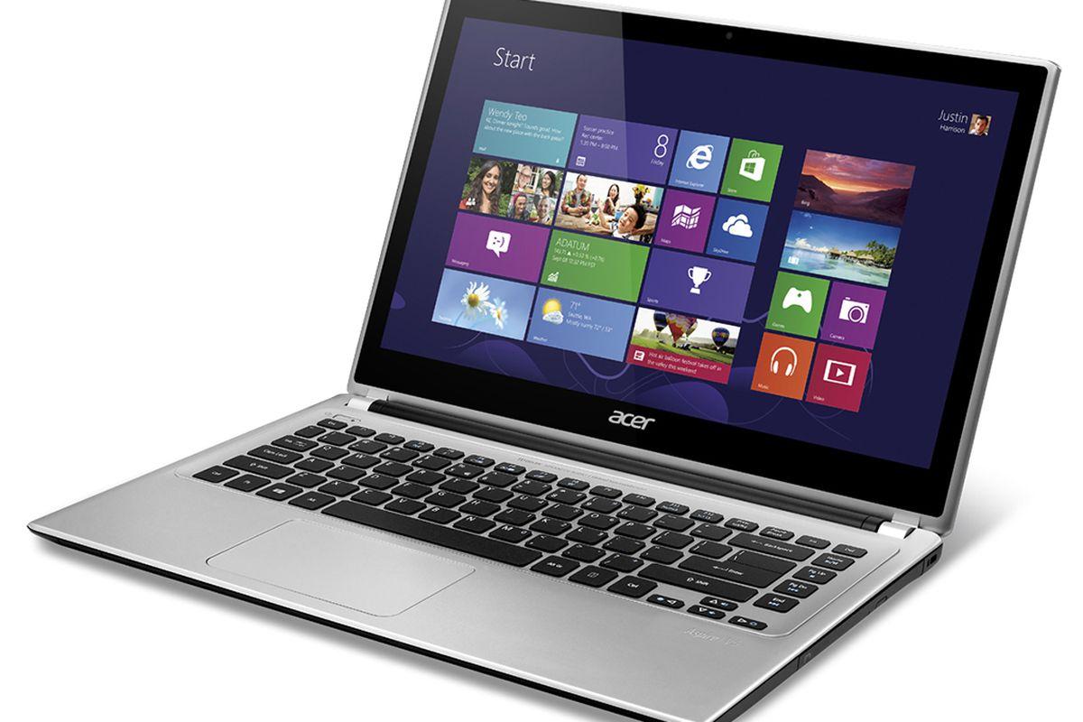 acer aspire v5 screen resolution