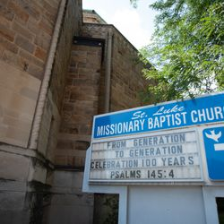 St. Luke Missionary Baptist Church in the South Shore. | Colin Boyle/Sun-Times