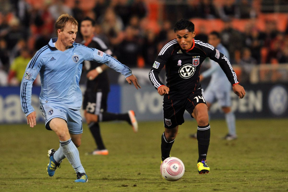 In a somewhat shocking move by Sporting Kansas City, left back Seth Sinovic was one of the players left unprotected for the upcoming expansion draft. (Photo by Larry French/Getty Images)
