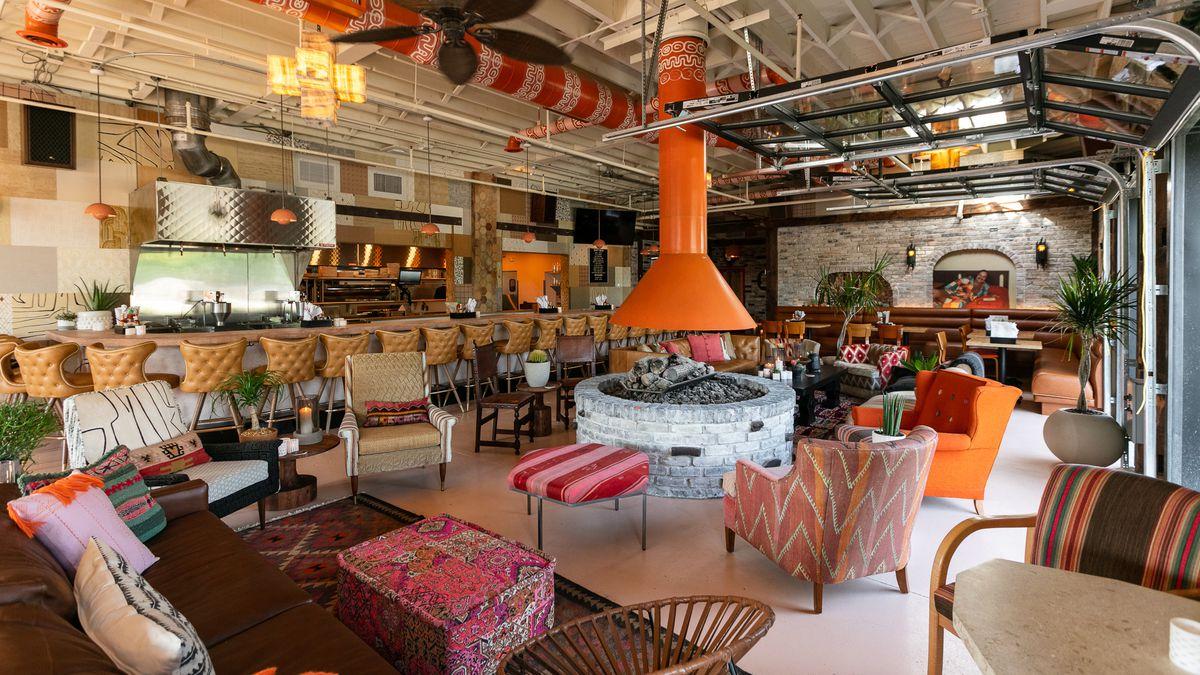 Inside Gran Castor Troys Eclectic Latin American Fusion Restaurant