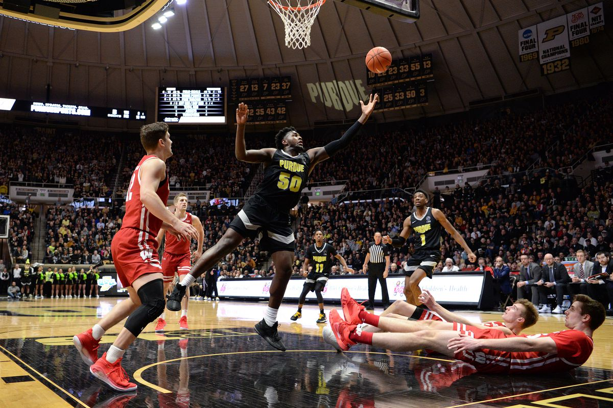 COLLEGE BASKETBALL: JAN 24 Wisconsin at Purdue