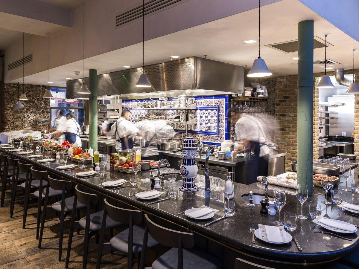 Sabor in Mayfair, a 2019 Michelin star restaurant in London