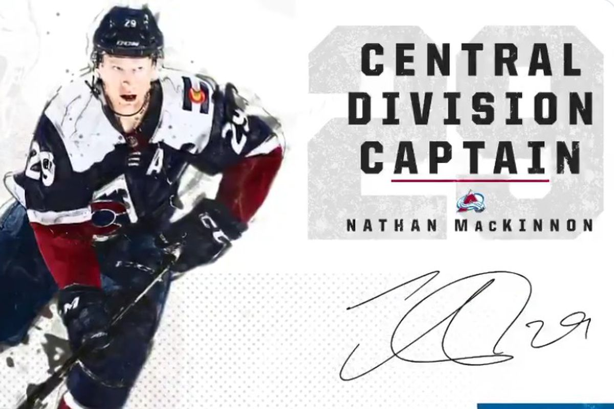 Nathan MacKinnon to captain the Central Division All-Star
