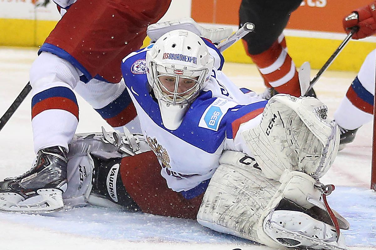 Team Canada out shoots Team Russia 53-20 but loses 2-1 in overtime in a 2015 IIHF World Junior Championship exhibition game