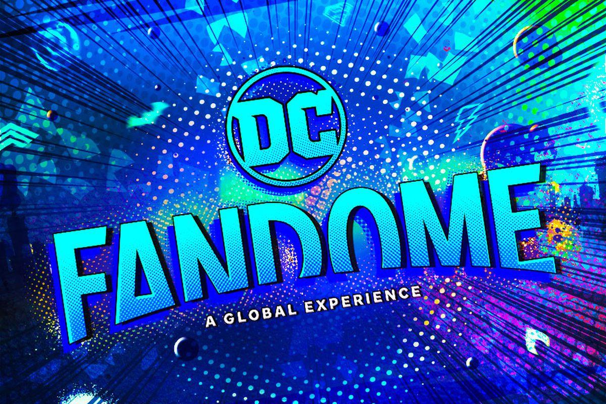 the DC FanDome logo