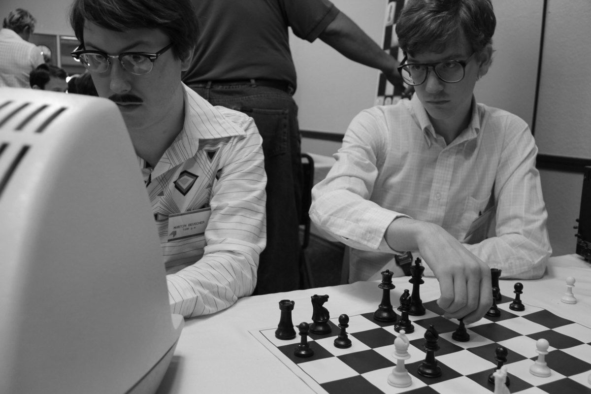 Bujalski returned to black and white for his 2013 feature Computer Chess.