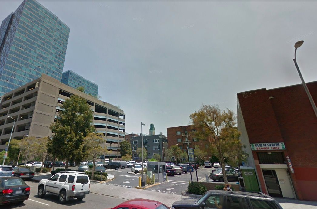 Site of Koreatown homeless shelter