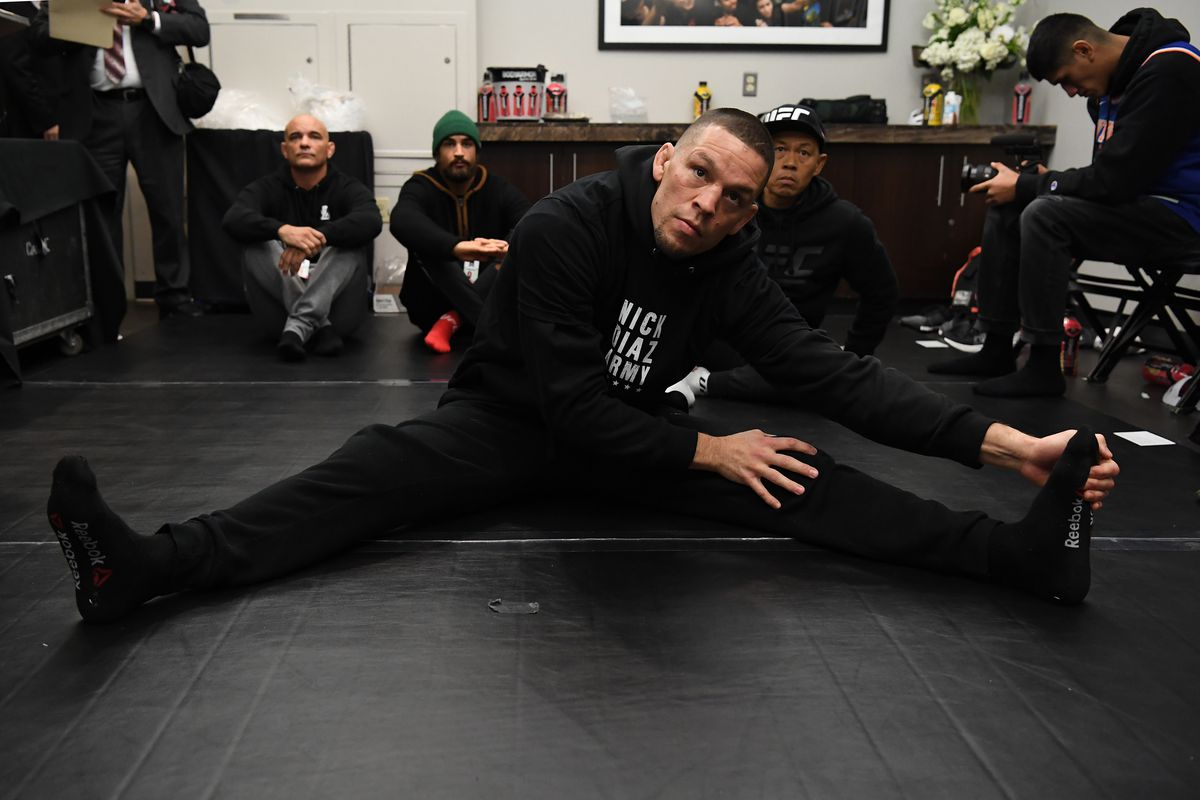 Nate Diaz is injured, and will push back his bout with Leon Edwards.