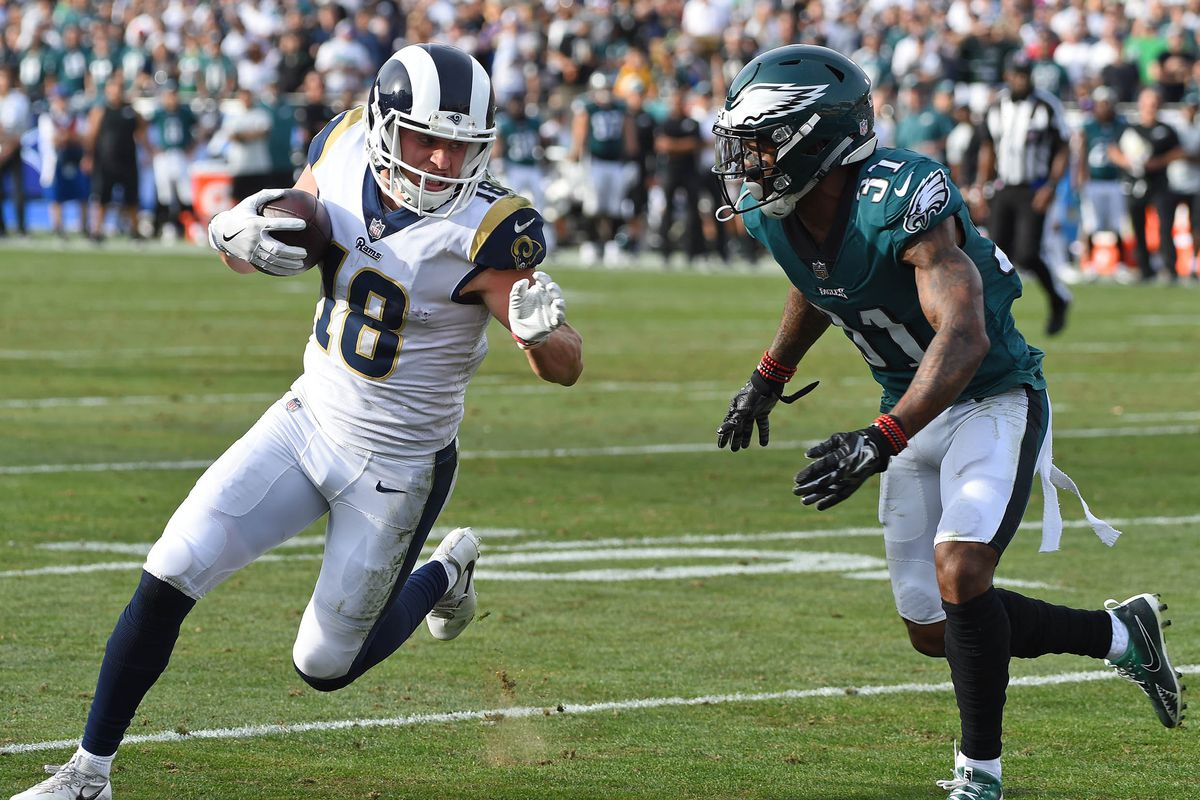Who Is Rookie Cooper Kupp The Rams Leading Wr And Former Fcs Star Sbnation Com