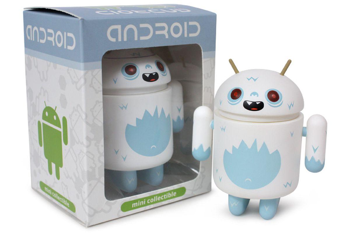 Yeti Android figure