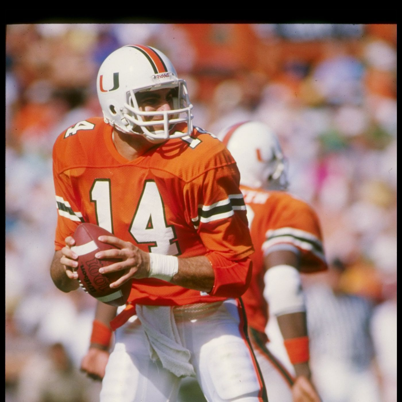 a660f0f47 14 days to Miami Hurricanes Football: a tribute to Vinny Testaverde ...