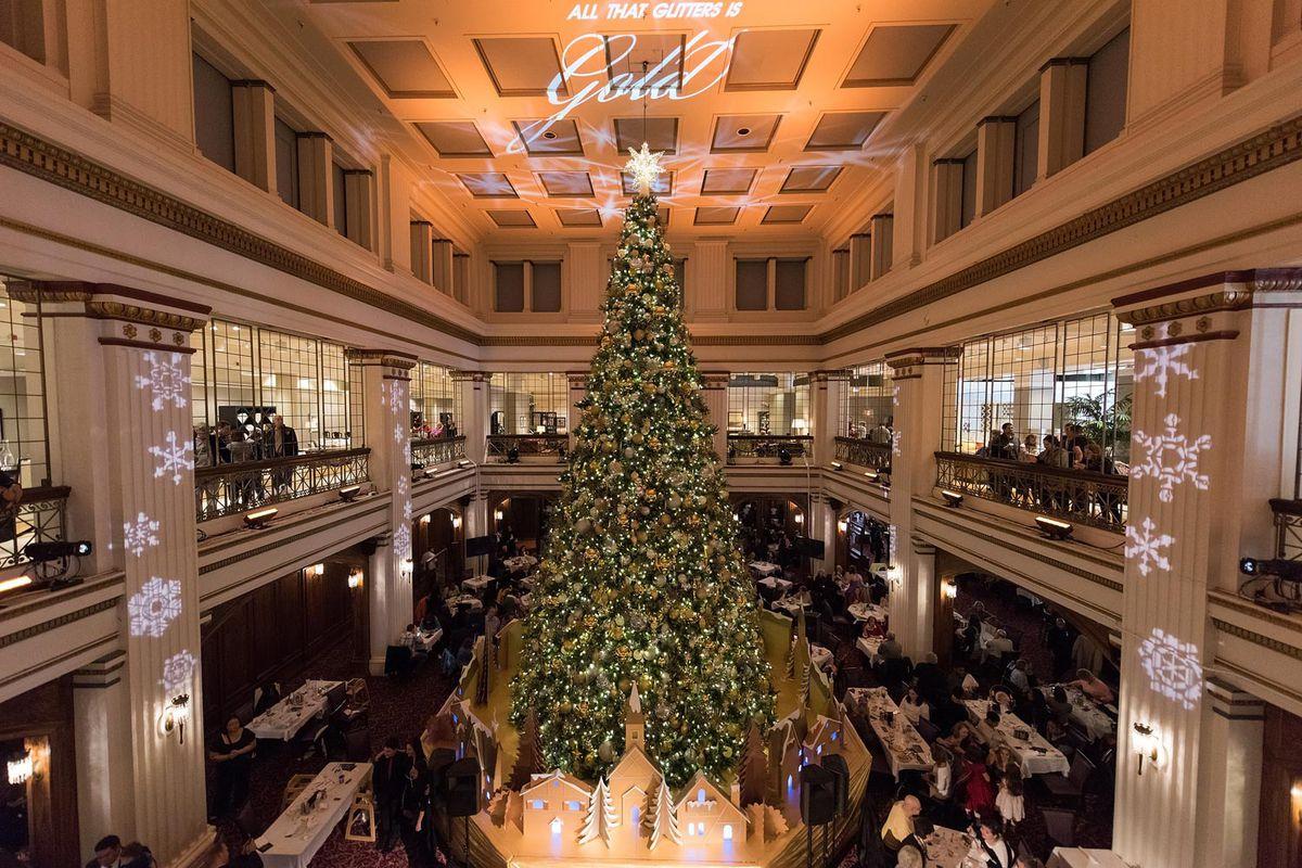 Macys 42nd Street Christmas Window 2020 Macy's 2020 reimagined holiday celebration: Walnut Room