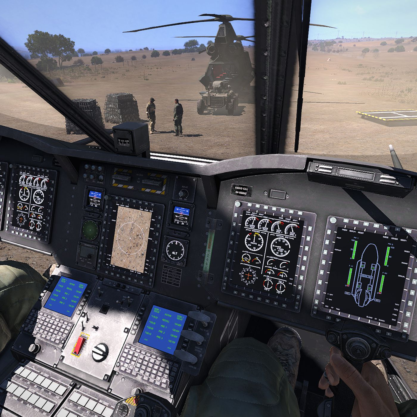 Watch one of Arma's best pilots take on the new helicopter