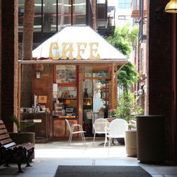 Your caffeine buzz is for sure worn off by now, and you might even be game for a nosh. So head to the majorly charming Jackson Place Cafe at 633 Battery—but don't miss it, it's tucked inside 1 Jackson Place, which you can enter via Sansome or Battery. The