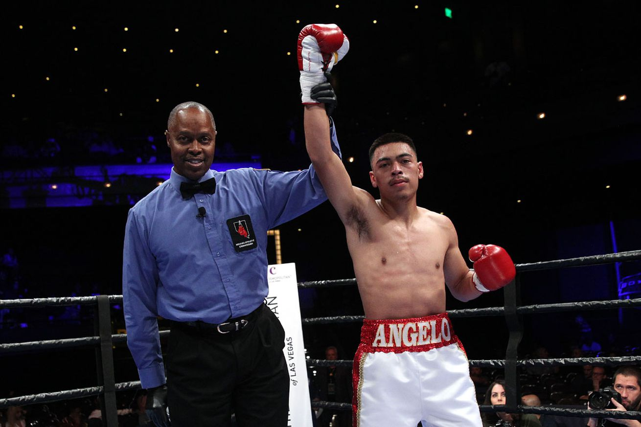 angeloleomayweather.0 - Trio of unbeaten prospects set for April 5 ShoBox