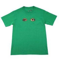 """<a href=""""http://www.colette.fr/#/eshop/article/31002733/odd-future-t-shirt-odd-eyes/117/"""">Odd Eyes</a>, $50"""
