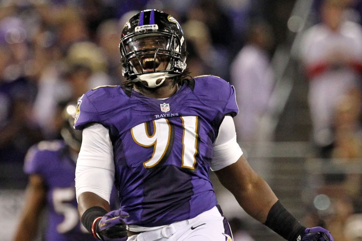 Guess who's listed as a co-starter on the Ravens' first unofficial depth chart?