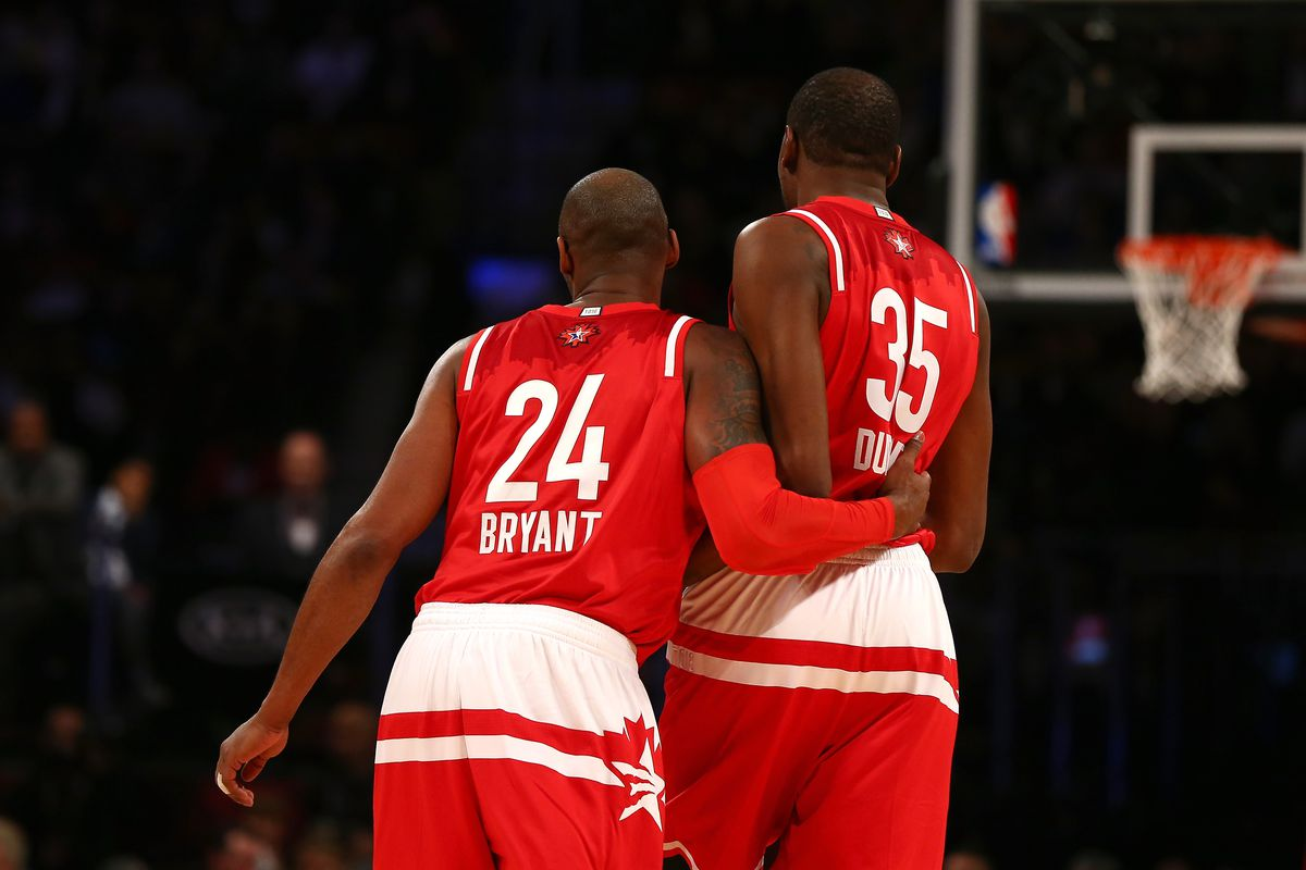 bb91c6ae9e0d Kevin Durant says Kobe Bryant and Michael Jordan are the players he would  most want to team up with in the NBA Finals
