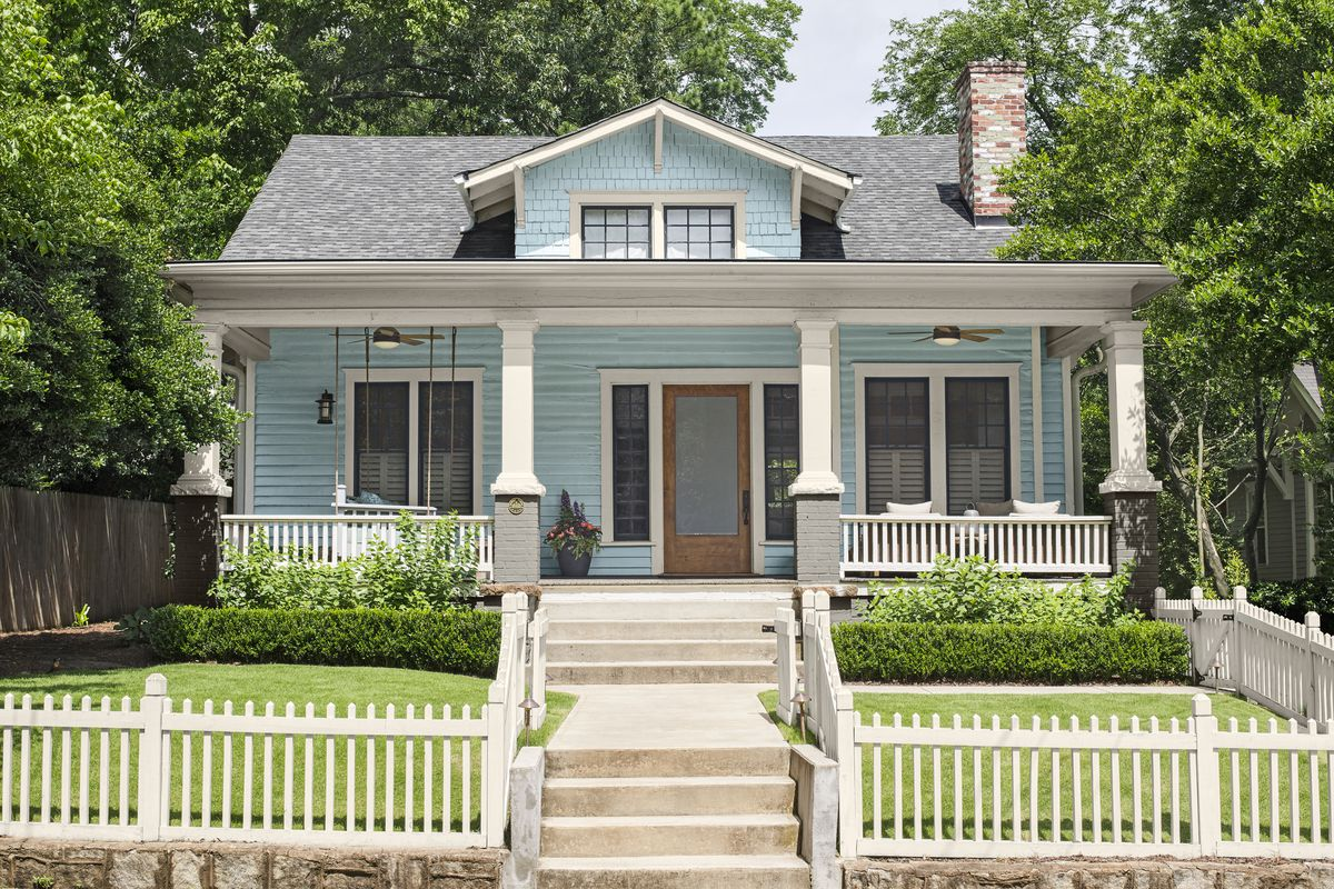 Curb appeal of a home