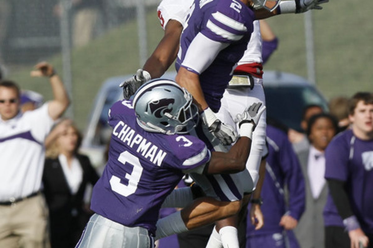 Now that Allen Chapman is a starting cornerback, let's hope we see less of this over the top of him, eh?