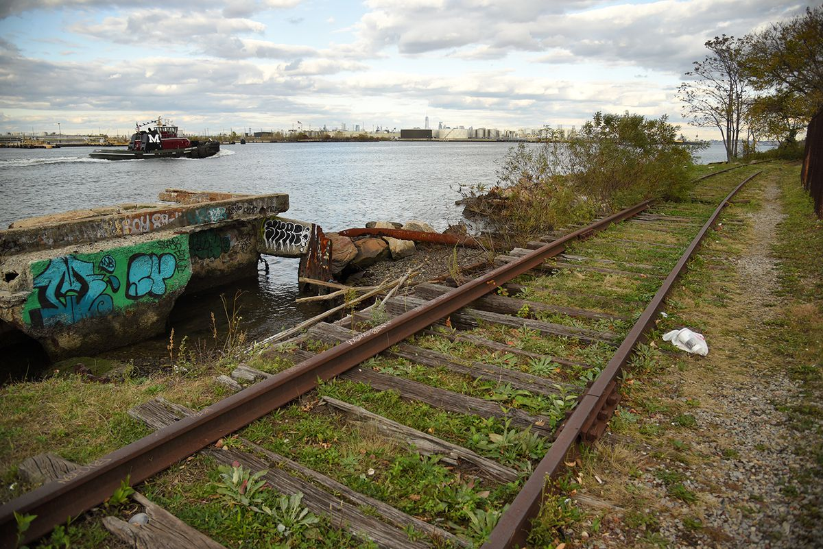 Exploring Staten Island S Hidden North Shore Branch Eyed For A New Bus Line Curbed Ny