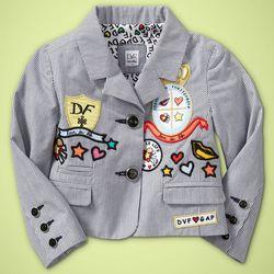 DVF Toddler Girl Blazer $80