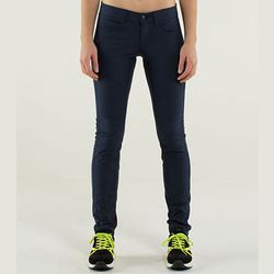 """If you bike to work, the <strong>Lululemon</strong> Bust a Move Pant, <a href=""""http://shop.lululemon.com/products/clothes-accessories/athletic-pants/Bust-A-Move-Pant?cc=8353&skuId=3523149&catId=athletic-pants"""">$128</a>, is perfect for looking professional"""