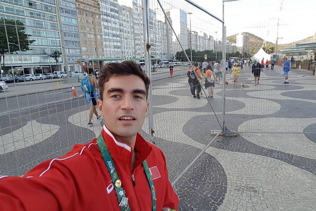 Amini Fonua, a swimmer from Tonga, is one of the openly gay LGBT Olympians in Rio.