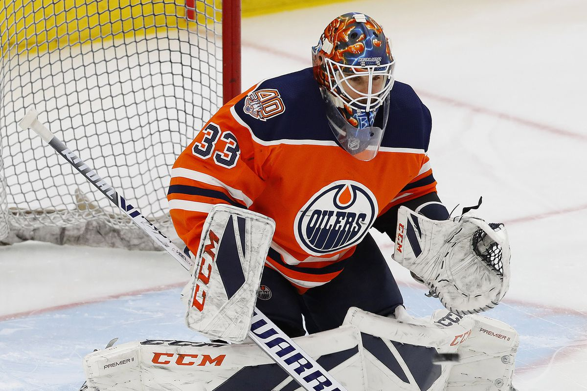 brand new fe5cb 8bd41 Rumor: Flyers are talking to Edmonton about goaltender Cam ...
