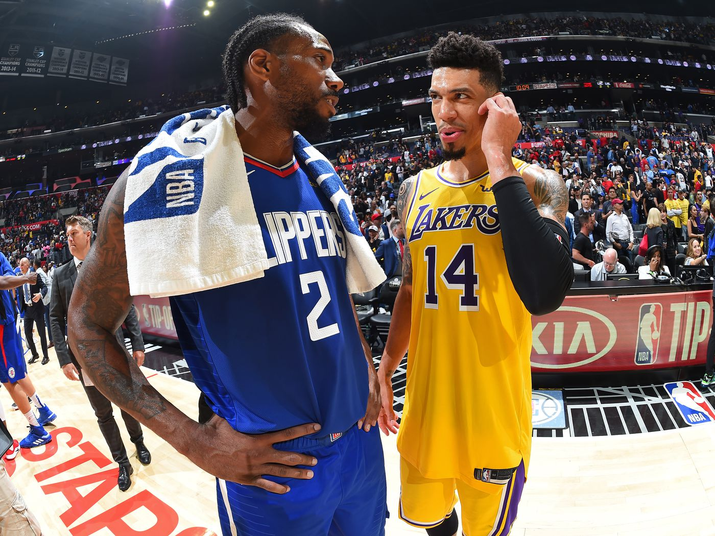 Lakers Danny Green Breaks Down Differences Between Lebron Kawhi Silver Screen And Roll
