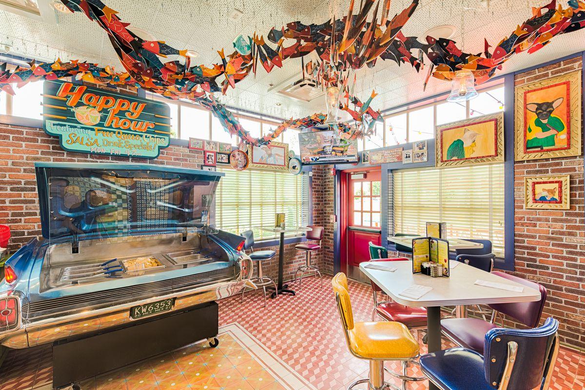 The nacho car at Chuy's Fairfax location