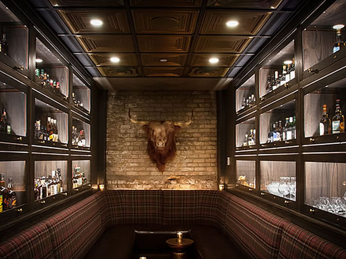 Join Duncan in the whiskey room at Constantine