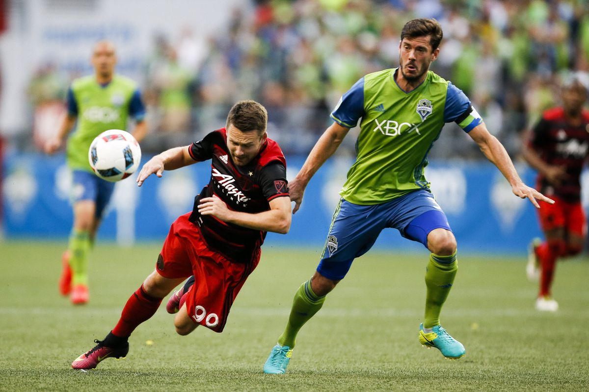 MLS: Portland Timbers at Seattle Sounders FC
