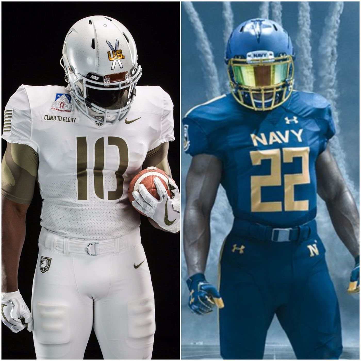 online store df1c9 87573 Army-Navy Game uniforms 2017: What these beauties mean ...